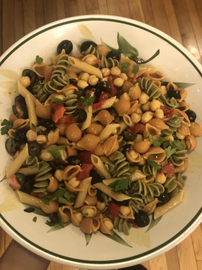 low fat pasta salad recipe